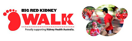 Big Red Kidney Walk | Proudly Supporting Kidney Health Australia